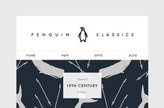 Penguin Classics on Behance #penguin