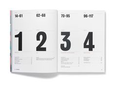 YouCanNow Issue One Alex Hunting #grid #layout #spread #table #numbers #index #contents #toc #of