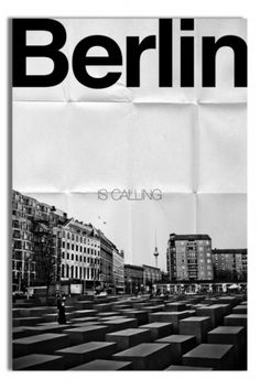Berlin Typographic Cover #typography