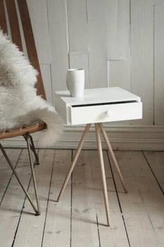 Designer Visit: Simen Aarseth in Oslo : Remodelista #design #furniture #interior #side table