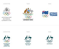 New Logo and Identity for Australian Olympic Committee #brand #corporate #sport#identity #system #guidelines #australia