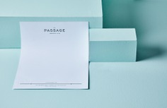 The Passage Branding - Mindsparkle Mag Beautiful new branding project for The Passage by SDCO Partners. #corporate #identity #branding #design #color #photography #graphic #design #gallery #blog #project #mindsparkle #mag #beautiful #portfolio #designer