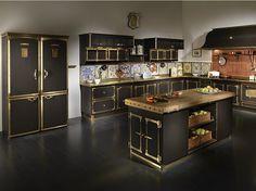 Medici Palace kitchen by Officine Gullo (7) - www.homeworlddesign.com #kitchen
