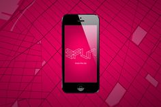 SPUN: City News #esher #pink #ios #screen #loading #identity #spun #logo