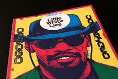 Out now: Little White Lies # 45 | FF3300 – Blog #cmyk #overlay