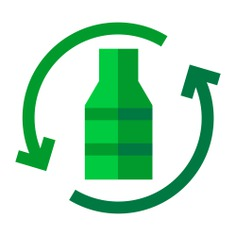 See more icon inspiration related to ecology, plastic, enviroment, sustainable, ecology and environment, recycling glass, sustainability, ecologism, recycling, reuse, ecological, eco, recycle, glass and bottle on Flaticon.