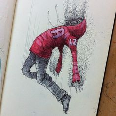 MOLESKINE SKETCHES 3 by Norio Fujikawa #inspiration #doodle #design #drawing #character