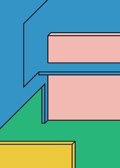 graphic, illustration, memphis, colours