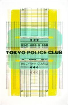 tokyo_police_club_poster.jpg (388×600) #poster