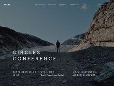 Circles — Event Template for Slides by Vladimir Kudinov for Designmodo