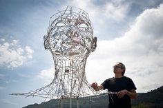 Steel Sculptures by Jordi Diez Fernandez - JOQUZ #steel #sculpture #art