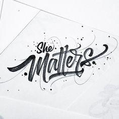 Typographic Aesthetics: Brushpen Lettering by David Milan