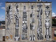 phlegm08 #norway #phlegm #mural