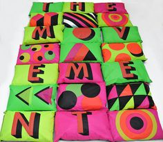 Creative Review A café with character(s) #type #bright #colours