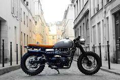 Triumph Cafe Racer #machine #racer #cafe #vintage #triumph #motorcycle