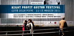 Identité du festival de guitare classique | Phileman Agence de communication et de design Nantes / Lorient #pictures #festival #date #event #cyan #classic #danilo #poster #street #music #communication #dolci #italy