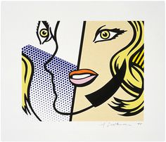 Roy Lichtenstein Untitled (Head), 1995 Lot Number 7 Lithograph on Lanaquarelle paper