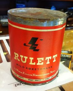 Riley Cran | Blog #typography #vintage #logo #mark #can #tobacco #rulett