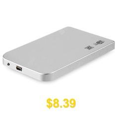 W25S30 #USB #3.0 #SATA #Hard #Drive #HDD #Enclosure #Case #- #SILVER