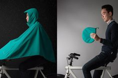Boncho is a #unique and ultra #breathable bike #poncho that protects your whole body from rain while riding your #bike.