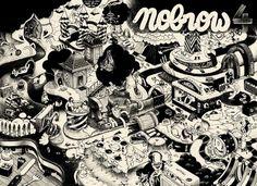 mcbess #mcbess #black #illustration #brow #no