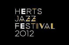 Herts Jazz Festival #typography