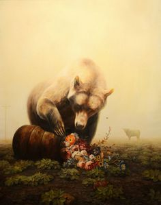 Paintings by Martin Wittfooth #illustration #art #paintings