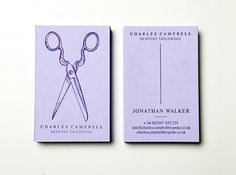 Charles Campbell : Lovely Stationery . Curating the very best of stationery design #design #campbell #teacake #tailoring #charles