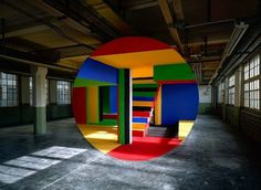 New Anamorphoses by Georges Rousse8 #architecture #art