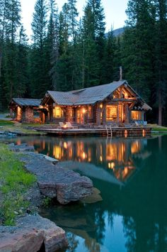 House on the lake #lake #house