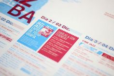 JAZZBA - Festival de Jazz on the Behance Network #flyer #afiche #jazzba #festival