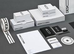 Deskidea brand identity design