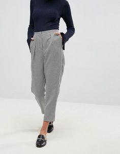 ASOS | ASOS Tailored – Eng zulaufende Hose mit Hahnentrittmuster
