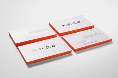 News/Recent - Fabio Ongarato Design | K.P.D.O. #edge #printing #identity #stationery
