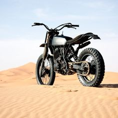 BOY JANSSEN'S XT 600 DESERT SLED #motor #bike