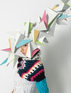 "makotoyabuki » Project Faces ""mask"" #inspiration #creative #craft #colors #mask"