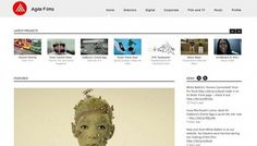 Agile Films - Web design inspiration from siteInspire #ghfghfgh