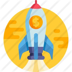 See more icon inspiration related to business and finance, startup, rocket launch, space ship launch, rocket ship, space ship, transportation, rocket and transport on Flaticon.