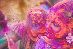 Color Explosion at Holi Festival in India