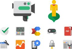 Christopher Bettig Google #google #christopherbettig #icons