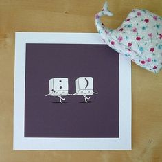Happy Ever After Print by ilovedoodle on Etsy