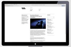 Non Format: nyMusikk / on Design Work Life #design #graphic #web #identity