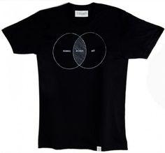 Imaginary Foundation The Undivided Mind Men's T - Men's T - Store #venn #tshirt #shirt #art #science