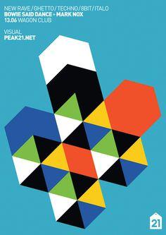 Autofokus Das Lokal by Peak21 #bauhaus #geometric #minimalistic #poster