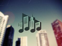 Music town #music #logo #branding