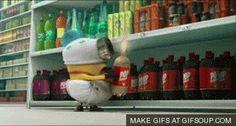 Minion Animated GIF | Movies GIFs - GIFSoup.com #gif #minion