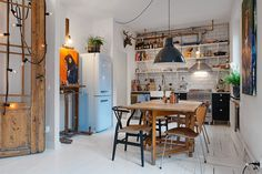A small home with a great personality! #interior #apartment #kitchen