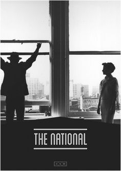 The National - James Kirkups portfolio #print #1950 #the #james #poster #national #kirkup