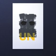 UN on Behance #sun #eyes #print #texture #serigraphie #screen #printing #srigraphie