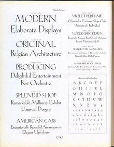 Rivoli was designed for ATF by Willard T. Sniffin around 1928. #type #specimen #typography
